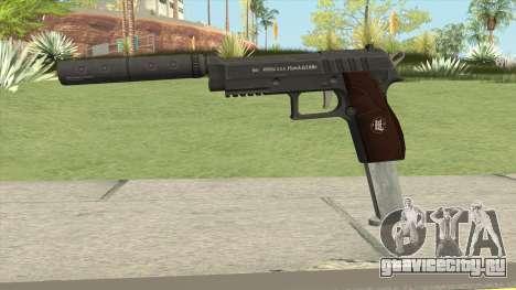 Hawk And Little Pistol GTA V Black (New Gen) V7 для GTA San Andreas