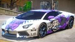 Lamborghini Aventador V1 PJ1 для GTA 4