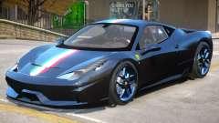 Ferrari 458 Novitec Rosso для GTA 4