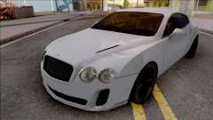 Bentley Continental Supersports 2010 Lowpoly