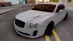 Bentley Continental Supersports 2010 Lowpoly для GTA San Andreas