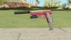 Hawk And Little Pistol GTA V (Pink) V3 для GTA San Andreas