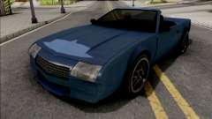 FlatOut Splitter Cabrio v2 для GTA San Andreas