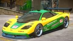 McLaren F1 V2 PJ6 для GTA 4