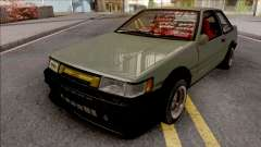 Toyota AE86 Levin Coupe Vision TopTeen для GTA San Andreas