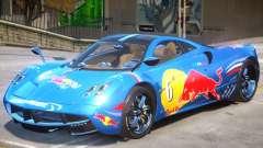 Pagani Huayra furious V1 PJ1 для GTA 4
