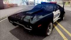 Plymouth GTX 1972 Custom Police LVPD для GTA San Andreas