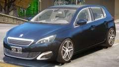 Peugeot 308 V1.2 для GTA 4