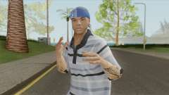 Aztecas Member Skin V2 GTA V для GTA San Andreas