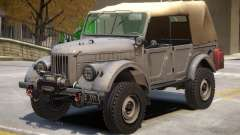 GAZ 69 V2 для GTA 4