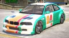BMW M3 GTR PJ4 для GTA 4