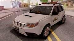 Subaru Forester 2011 City of Las Barrancas для GTA San Andreas