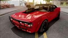 GTA V Bravado Gauntlet Hellfire Red для GTA San Andreas