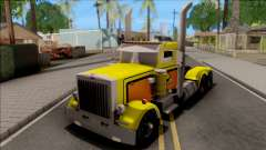 Peterbilt 379 Livingston Truck Convoy для GTA San Andreas