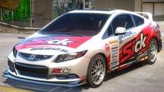 Honda Civic PJ2 для GTA 4