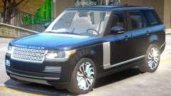 Range Rover Vogue V1.1 для GTA 4