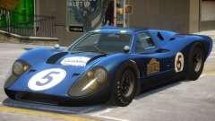 Ford GT40 PJ4 для GTA 4