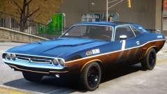 Dodge Challenger V1 PJ4 для GTA 4