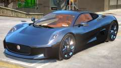 Jaguar C-X75 V1.2 для GTA 4