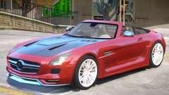 Mercedes Benz SLS Rodster PJ1 для GTA 4