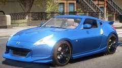 Nissan 370Z Upd для GTA 4