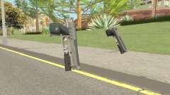 Hawk And Little Pistol GTA V Black (Old Gen) V5 для GTA San Andreas