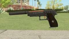 Hawk And Little Pistol GTA V (Orange) V6 для GTA San Andreas
