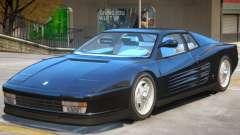 Ferrari Testarossa V1.1 для GTA 4