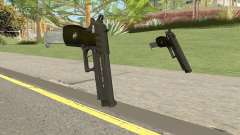 Hawk And Little Pistol GTA V (Green) V2 для GTA San Andreas