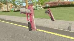 Hawk And Little Pistol GTA V (Pink) V4 для GTA San Andreas