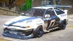 Toyota Corolla GTS для GTA 4