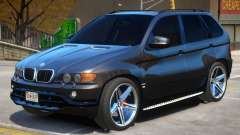 BMW X5 R3 для GTA 4