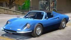 1972 Ferrari Dino V1 для GTA 4
