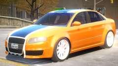 Audi RS4 V2 PJ3 для GTA 4