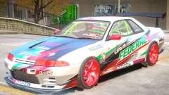 Nissan Skyline GT-R R32 V1 PJ для GTA 4