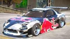 Mazda RX-7 V1.2 PJ1 для GTA 4