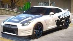 Nissan GT-R V2 PJ2 для GTA 4