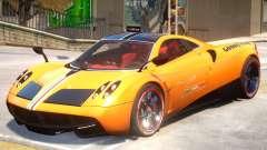 Pagani Huyara V1 PJ1 для GTA 4