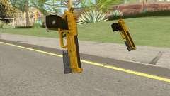 Hawk And Little Pistol GTA V (Gold) V4 для GTA San Andreas