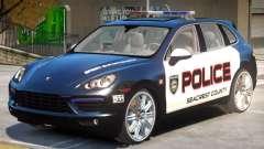 Porsche Cayenne Police для GTA 4