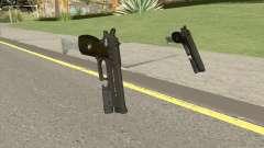 Hawk And Little Pistol GTA V (Green) V5 для GTA San Andreas