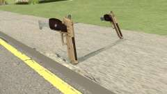 Hawk And Little Pistol GTA V (Army) V2 для GTA San Andreas