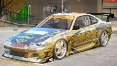 Nissan Silvia S15 V2 PJ для GTA 4