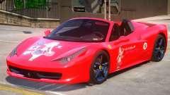Ferrari 458 PJ для GTA 4