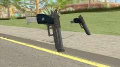 Hawk And Little Pistol GTA V (LSPD) V2 для GTA San Andreas