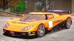 Koenigsegg CCGT V2 PJ3 для GTA 4