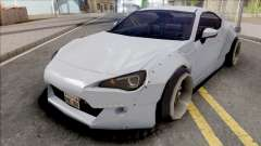 Toyota GT86 Rocket Bunny Low Poly для GTA San Andreas