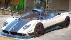 Pagani Zonda Cinque для GTA 4