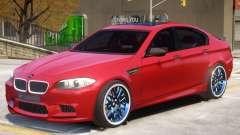 BMW M5 F10 R1 для GTA 4
