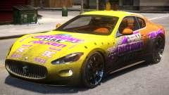 2012 Maserati Granturismo PJ1 для GTA 4